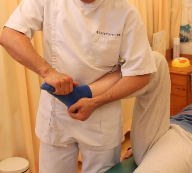足根骨の調整
