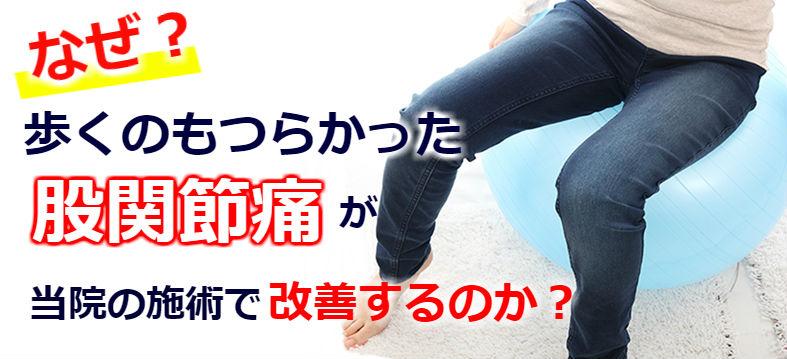 なぜ?歩くだけで痛い股関節痛が当院の施術で改善するのか?